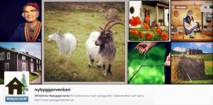 Nybyggarveckan finns på Instagram
