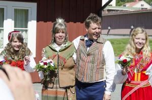 Hembygdsbröllop 2014