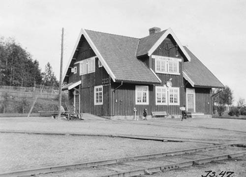 Det första tåget