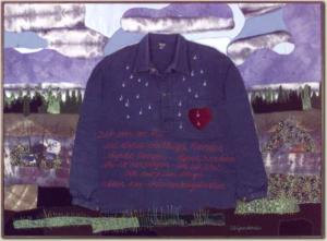 Textil konst av Anna-Lisa Grundström