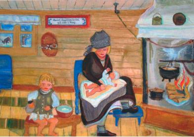 Nybyggarliv: berättelser om en tid och en bygd – ett symposium om nybyggarkulturen i södra Lappland