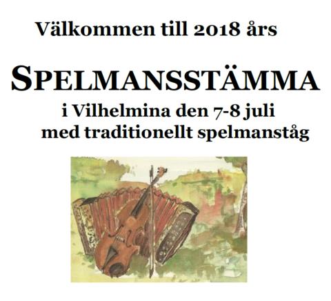 Spelmän – välkomna till årets spelmansstämma!