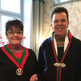 Paret Doris och Sven-Åke Risfjell