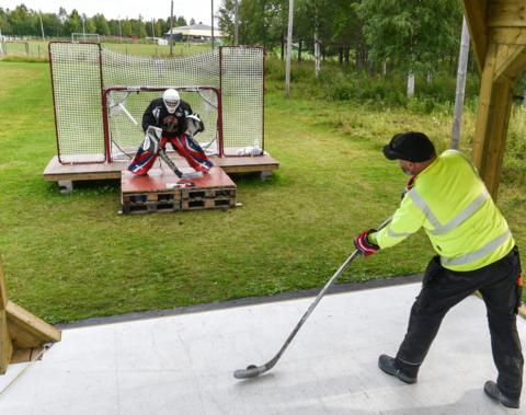 Skyttetävling hockey