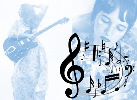 Spela, skriv, lyssna, måla & känn musik!