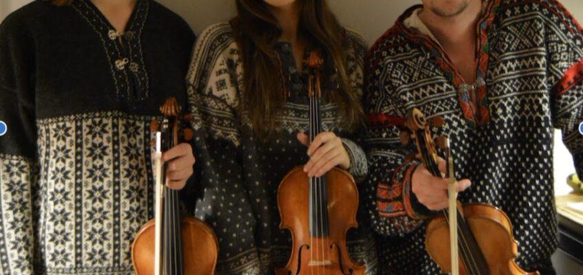 Folkmusik med Leesik trio