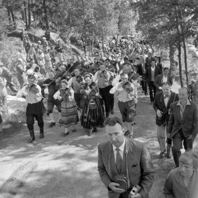 Spelmanståg 1958