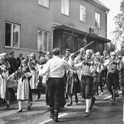 Spelmanståg 1960