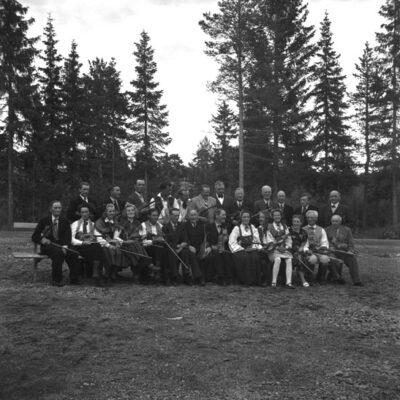 Bildandet av Västerbottens spelmansförbund 1947
